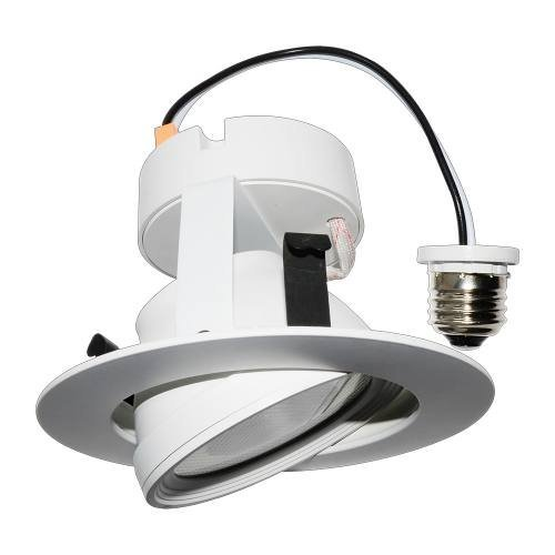 4 led gimbal recessed light fixture