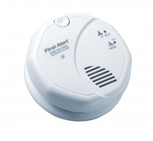 120V AC/DC Photo Smoke/ CO Combo Alarm