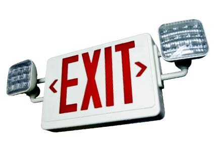 Exit Sign/Emergency Light Combos