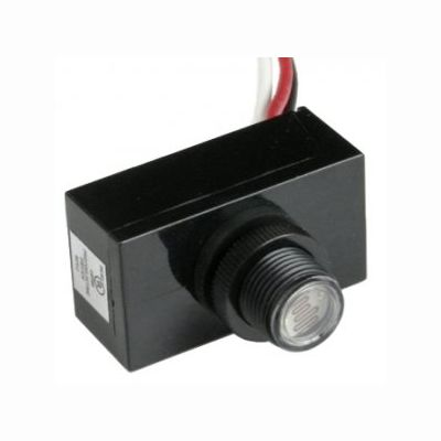 Photo Cell - Button 120-277 Volt