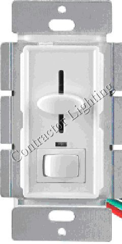 Three way SW/Lighted 700w Slide Dimmer LED/on/off