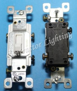3 Way Toggle Switch 15Amp
