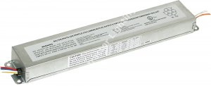 700 Lumen Low Profile Fluorescent Emergency Ballast- AC Output- Time Delay