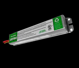 600 Lumen Emergency Ballast / Extra Low Profile with Time Delay