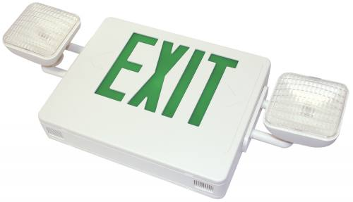 Exit Sign / Emergency Light Combos