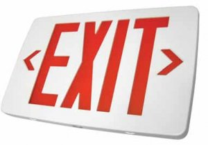 Exit Sign (No Light Heads)