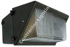 400W Quad Metal Halide Pulse Start Large WallPack