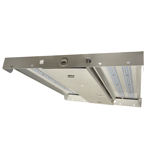 100 Watt Dimmable Linear Economic High Bay, 4000 and 5000 Kelvin, 13,910 Lumens, 5 Year Warranty