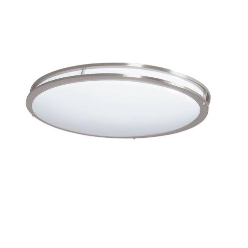 LED Oval Ringed Decorative Ceiling Light, 34 Watt, 2900 Lumens, 3K and 4K, 3 Year Warranty
