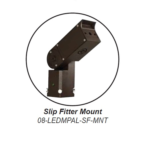 Slip Fitter Mount for LEDMPAL 80W - 300W
