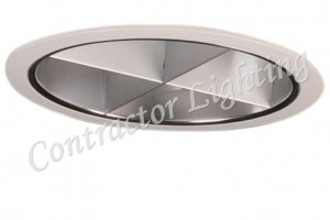 "6"" Vertical Clear Reflector Louver Cross Blade"