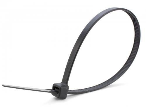 "8"" Black Plenum UV Rated Cable Ties"