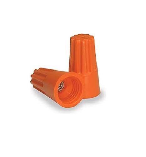 P3 Orange Barreled Wire Connector 500pc