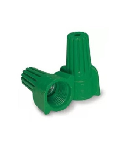 P99 Green Grounding Winged Wire Connector 500pc